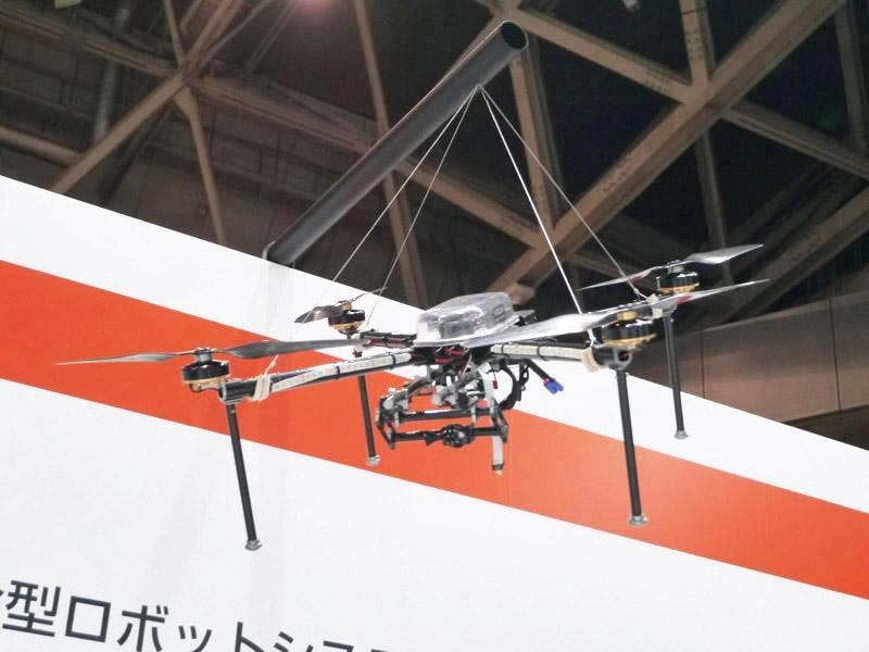 災害調査用地上/空中複合型ロボットシステム