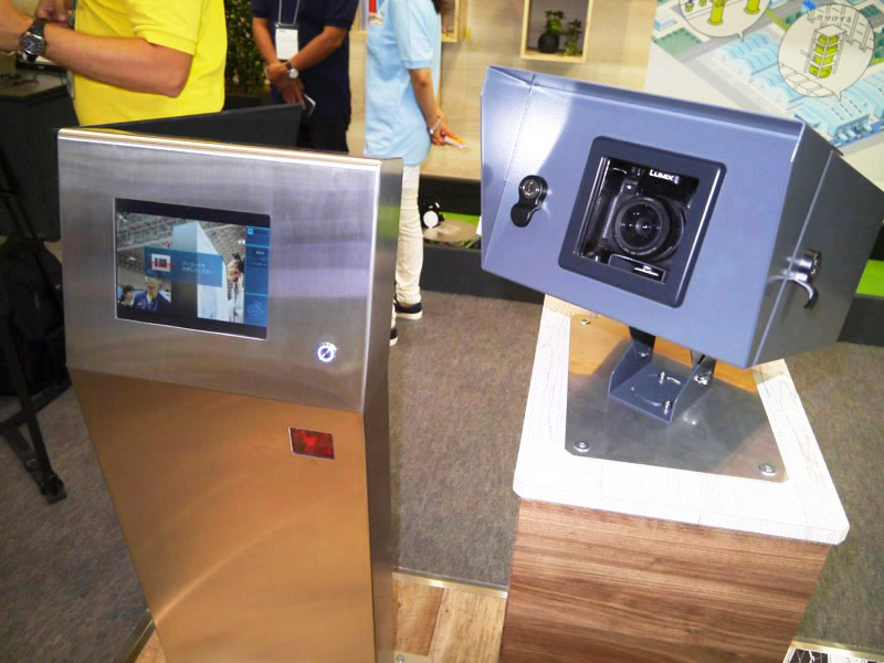 カメラシェアリングサービス「PaN」。エンタテイメント施設に設置されたカメラを利用者が共用。撮影した写真はクラウドで入手できる