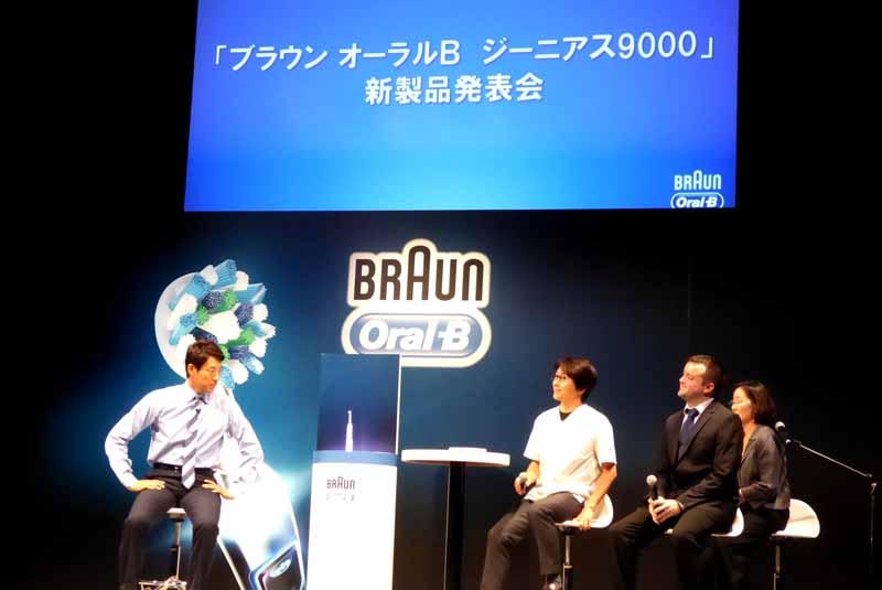 ゲストの松岡修造さんを迎え、トークセッションが行なわれた