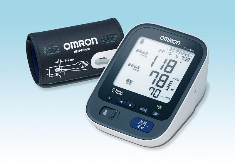 上腕式血圧計「HEM-7511T」
