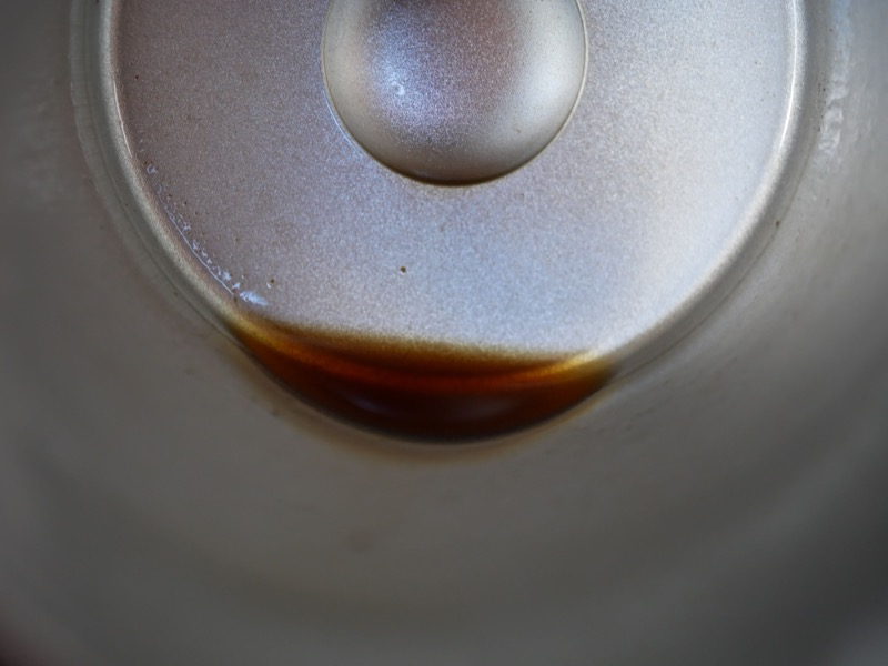飲み終わりの底にもコーヒーカスは少ない