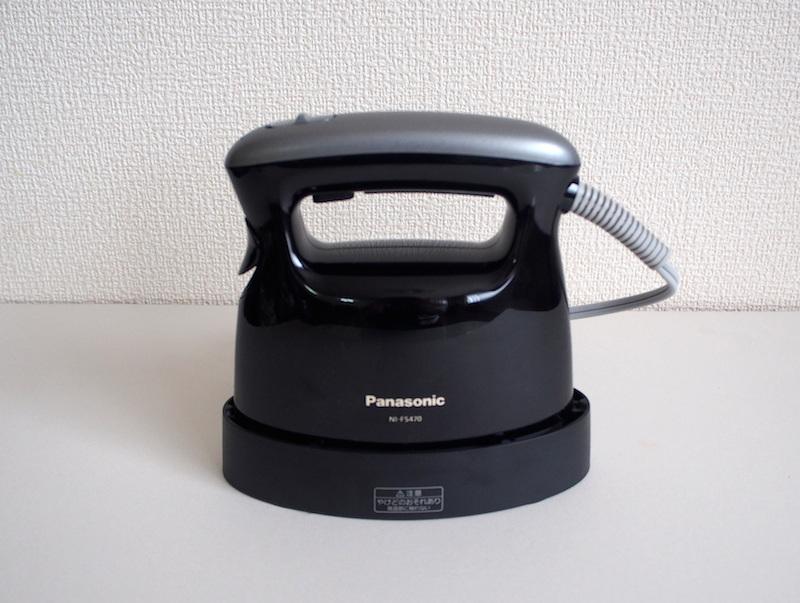パナソニックの「衣類スチーマー NI-FS470」