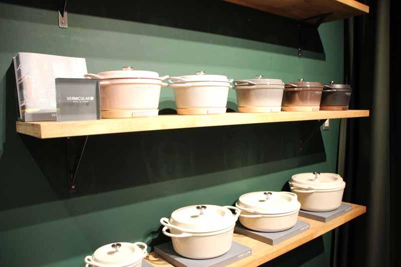 鋳物ホーロー鍋「バーミキュラ」は累計販売個数が20万個を突破