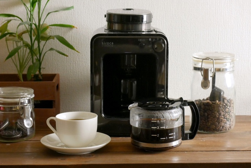siroca crossline 全自動コーヒーメーカー「SC-A121」