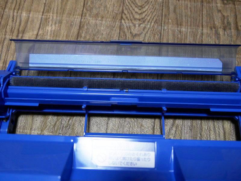フィルターからホコリを回収し、ダストボックスに溜める。掃除も簡単
