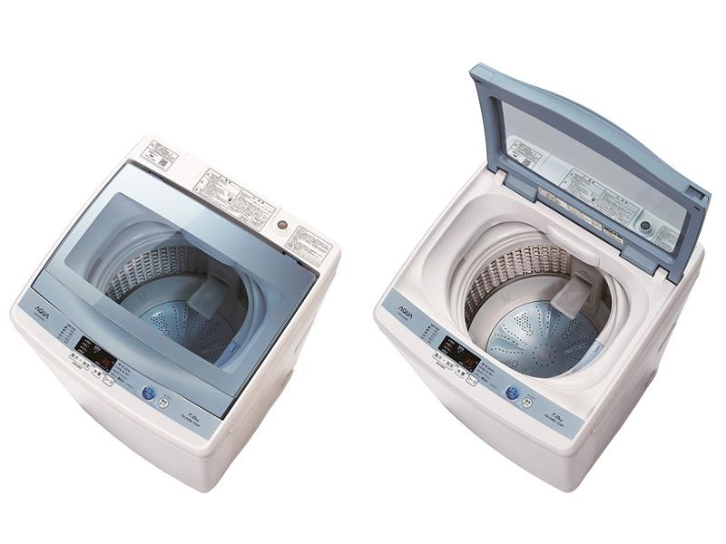 全自動洗濯機「ガラストップシリーズ AQW-GS70E」