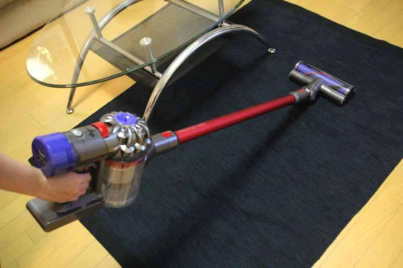 アニマルプロはパイプの色が赤でカッコいい。ハンドル部のトリガーを引くと駆動する