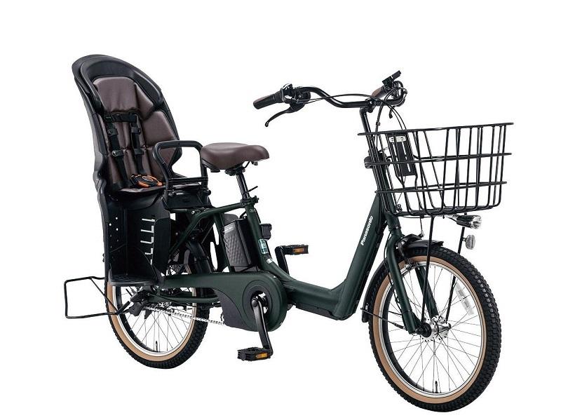 後子乗せ搭載の幼児2人同乗基準適合車「ギュット・アニーズ・EX BE-ELAE03」。価格は149,000円(同)