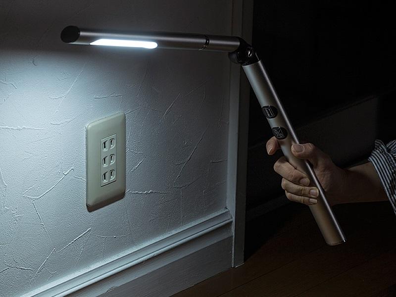 モバイルライトとしても使える