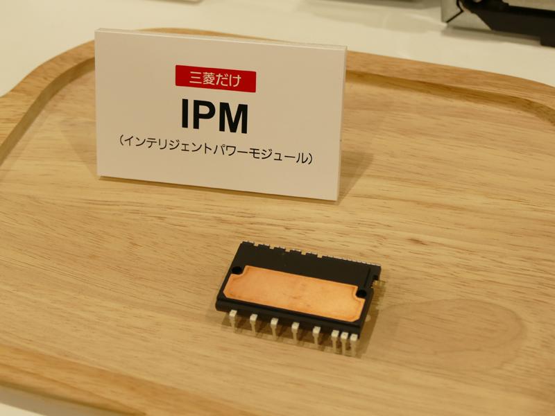 複数のインバーターを制御できるIPMという部品を搭載。3つのインバーターを使用することで、他社にはない多彩な加熱を実現する