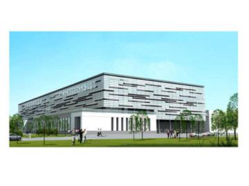 研究・開発センターが入居する夏普科技(深セン)有限公司(Sharp Universal Technology (SZ) Co., Ltd. 略称:SUT)の社屋
