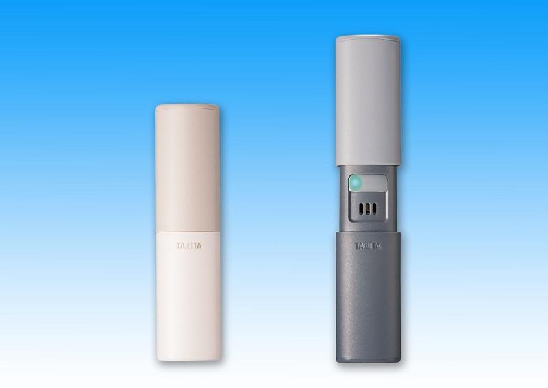 ニオイレベルはLEDランプで表示。本体カラーはアイボリーとグレーの2色