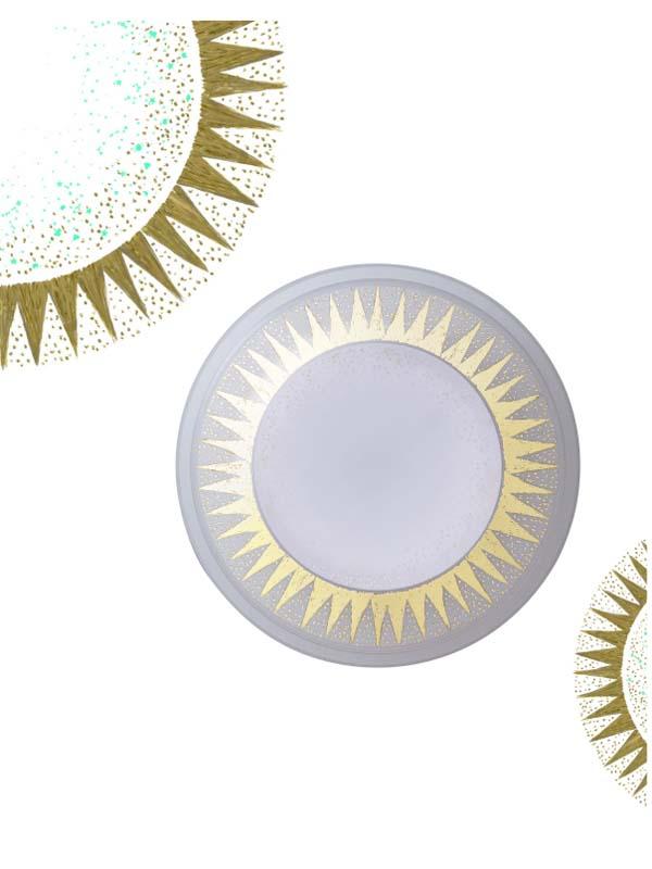 ギリシャの日差しをイメージした大人でシックな「キラキラ太陽」