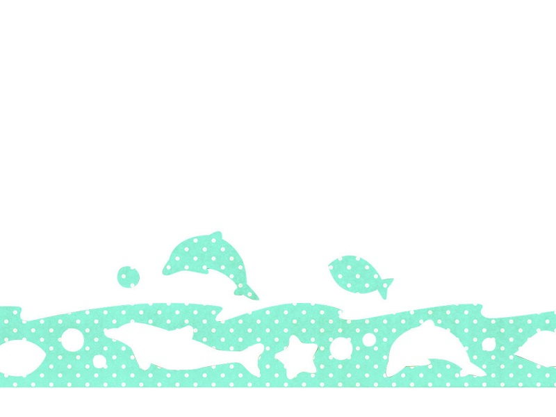 防カビ結露吸水シートの「イルカとサカナ」