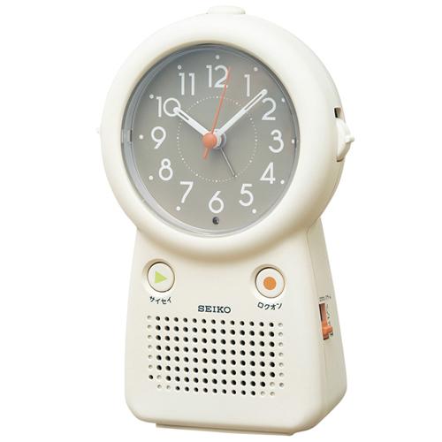 好きな音声を3チャンネルまで録音できる目覚まし時計「EF506C」