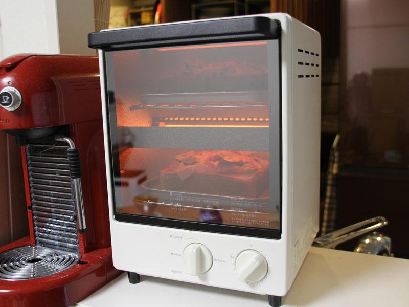 無印良品の「オーブントースター 縦型 MJ-OTL10A」