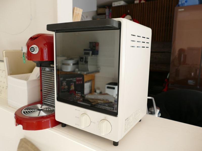 個性的なデザインがキッチンで目立つ