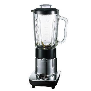 ミキサーは容量1000mlのボトルを採用。チタンコーティングカッターで口当たりのなめらかなスムージーが作れる