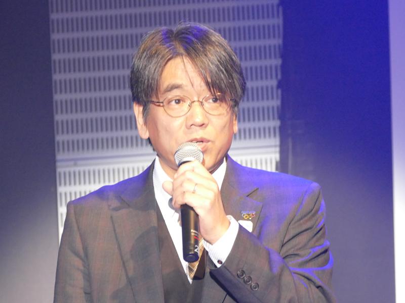 パナソニック システムネットワークス セキュリティシステム事業部 事業部長 島田伊三男氏