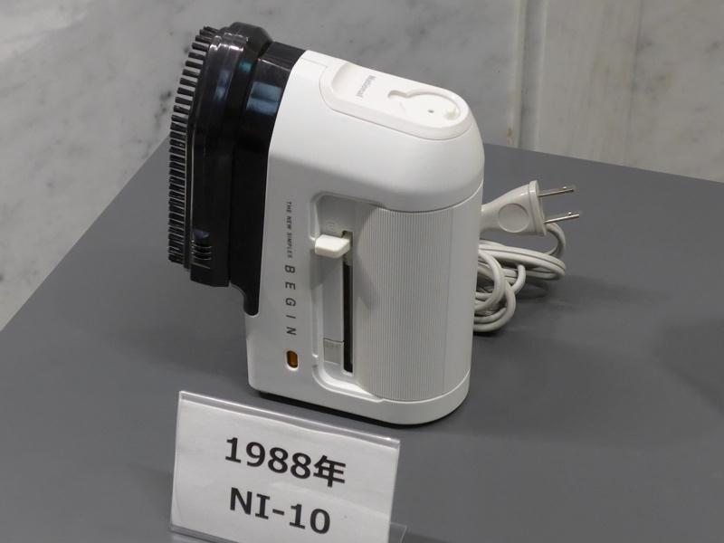 1988年発売の「NQ-200」と「NI-10」