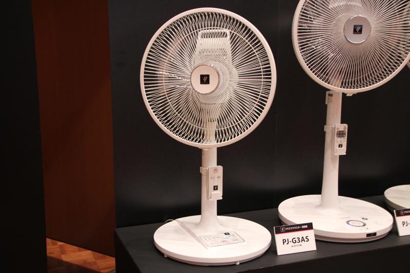 ACモーター採用「リビングファン PJ-G3AS」