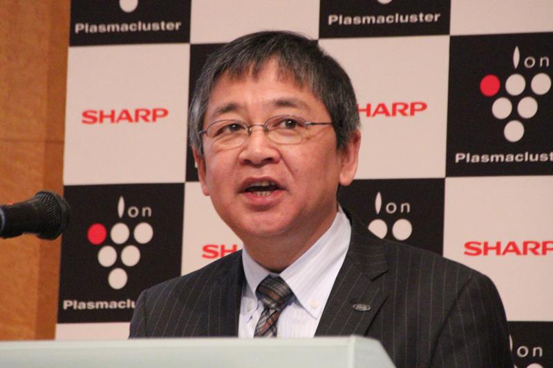 シャープ 健康・環境システム事業本部 副事業本部長 兼 空調・PCI事業部長 中島 光雄氏