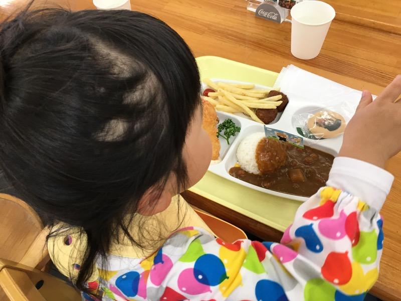 森のレストランというお店で食べたお子様ランチ500円、この店はなかなか美味しい