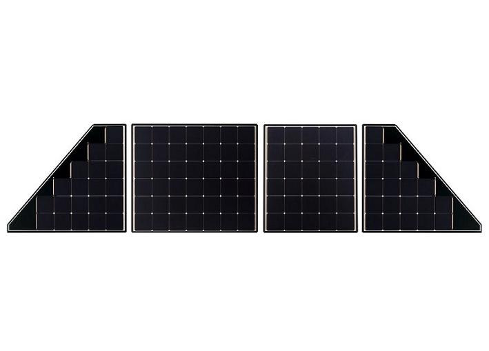 単結晶太陽電池モジュール「BLACKSOLAR」