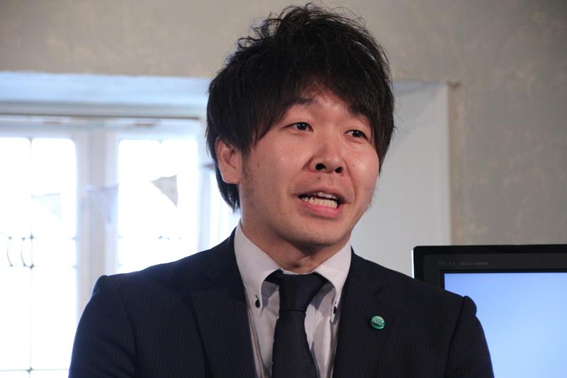 三菱電機ホーム機器 営業部 家電営業課 丁子 裕樹氏