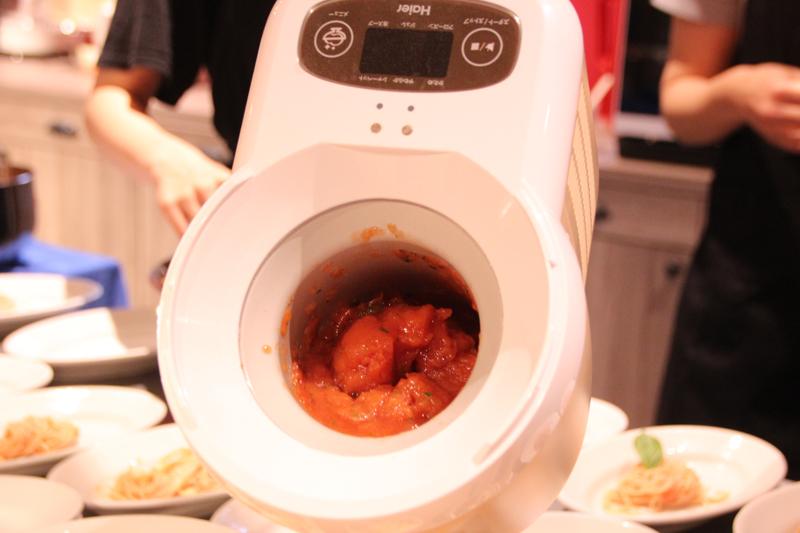 約0℃に冷やして作ったトマトジュレ