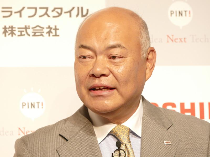 東芝ライフスタイルの取締役社長、石渡敏郎氏