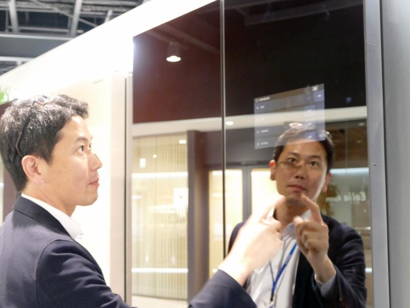 中国で発売されているタッチディスプレイ搭載の冷蔵庫。在庫管理などが可能