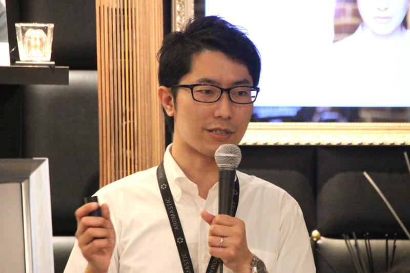 ソニー AROMASTICプロジェクトリーダーの藤田氏