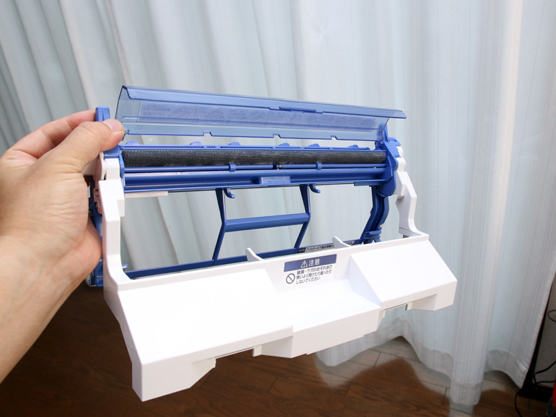 空気清浄機としても使えるほど、微粒子まで取り除くお掃除ユニット