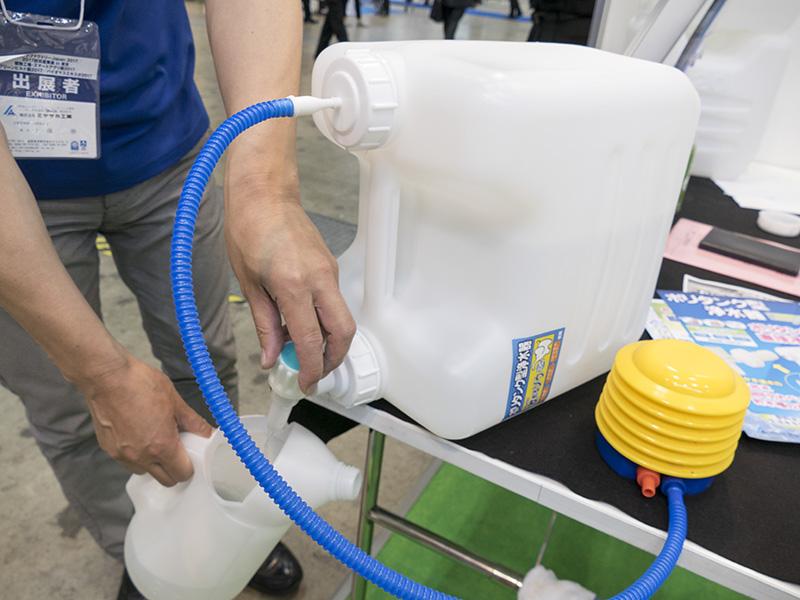 ポリタンク型浄水器「飲めるゾウミニ」
