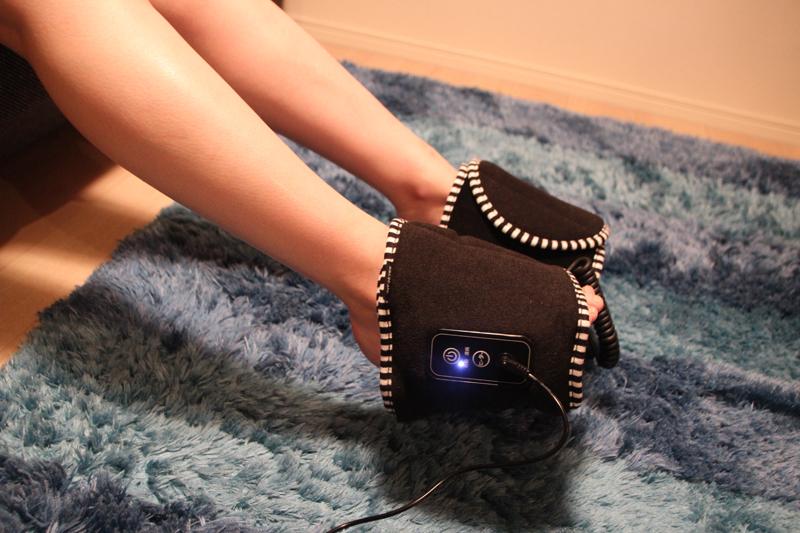 足裏はちょっとくすぐったい。マンションだと下の階に響くので、クッションを敷くか足を上げて使った方が良い