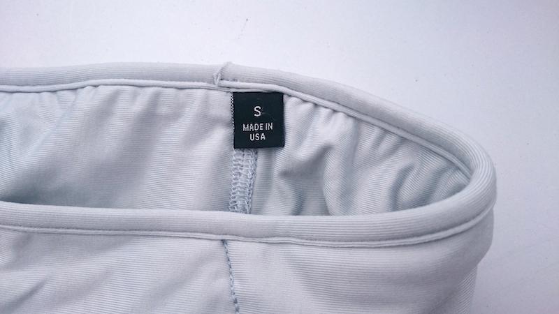 サイズはXXS~XLが用意されているので、ほとんどのランナーがピッタリなサイズを選べるはずだ。MADE IN USAなのも嬉しいところ