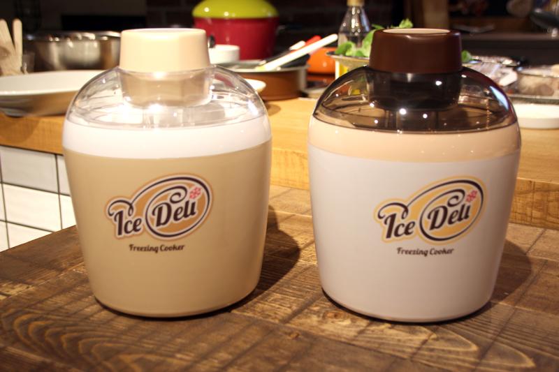 予冷なしで使える家庭用アイスクリームメーカー「IceDeli」