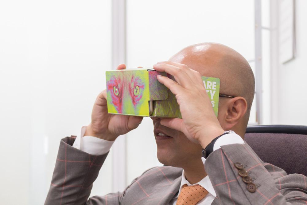 ちなみにVR動画関連の技術も持つ同社。注視箇所などによって動画をリアルタイムに分岐させる、といったことも可能。Playstation VR用のVR動画プレーヤーにも同社の技術が使用されているとのこと