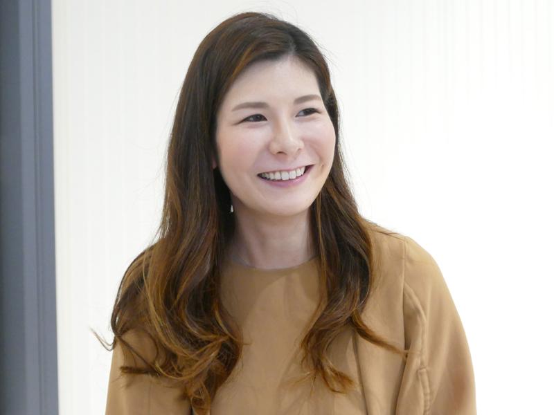 8年ぶりのフルモデルチェンジに関わったキッチンアプライアンス事業部 商品企画部 食洗機商品企画課 主務の谷山明子氏