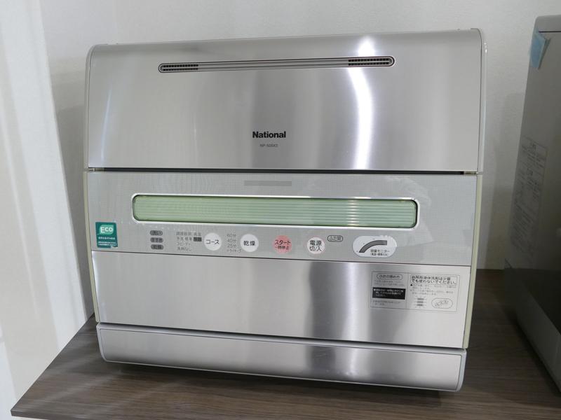 卓上タイプの食器洗い乾燥機。写真はパナソニックの2003年モデル