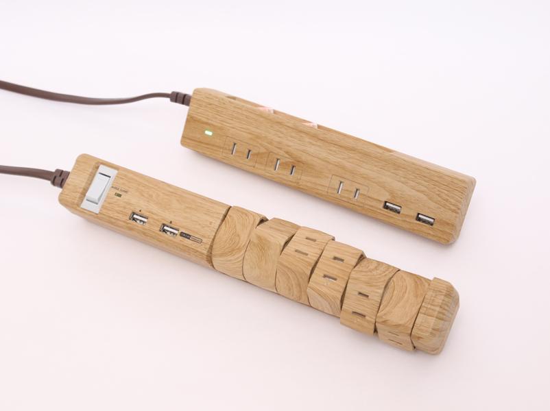 ファーゴ「TAPKING USB」(下)と「Natural Wood Tap」(上)