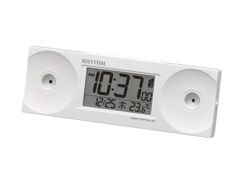電波めざまし時計「フィットウェーブバトル100 8RZ192SR」