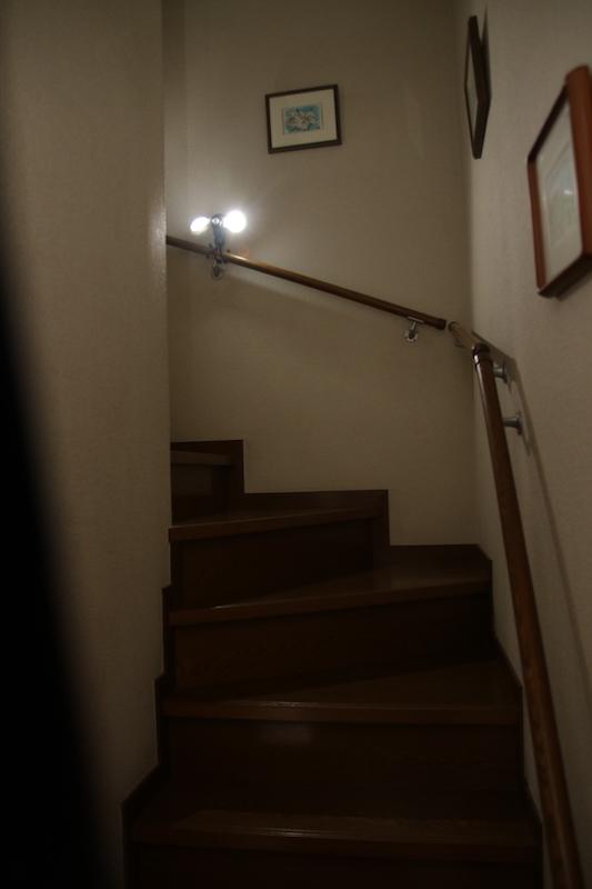 階段灯代わりとして超便利!