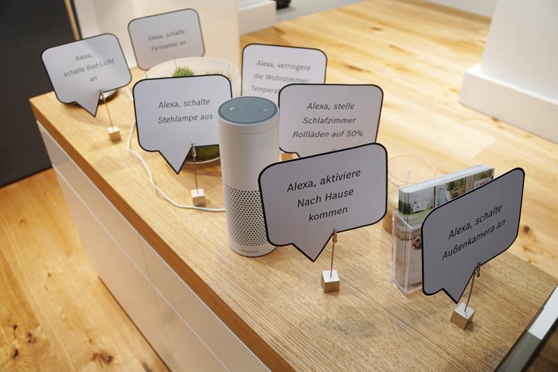 Bosch Smart Homeの中ではセキュリティカメラがAlexaのプラットフォームにつながる