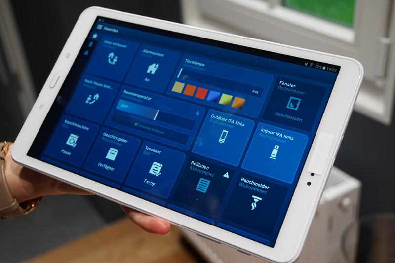 Bosch Smart Homeのコントロールアプリ。ネットワークに接続したIoT機器を一括制御できる