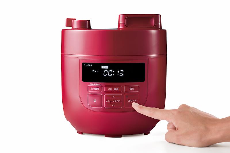 大きめのボタンやディスプレイを採用。表示される文字も大きくし、シニア槽でも使いやすいよう視認性をアップさせた