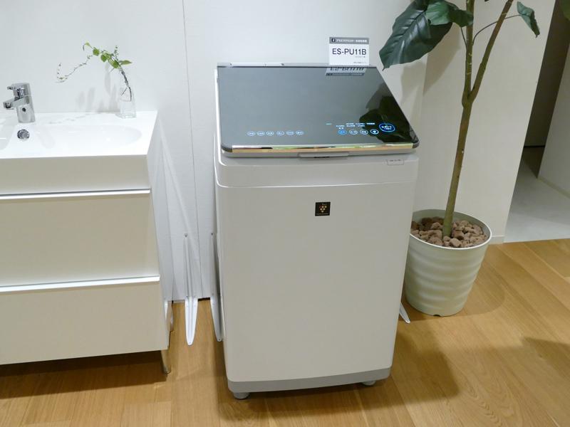 タテ型洗濯乾燥機 ES-PU11B