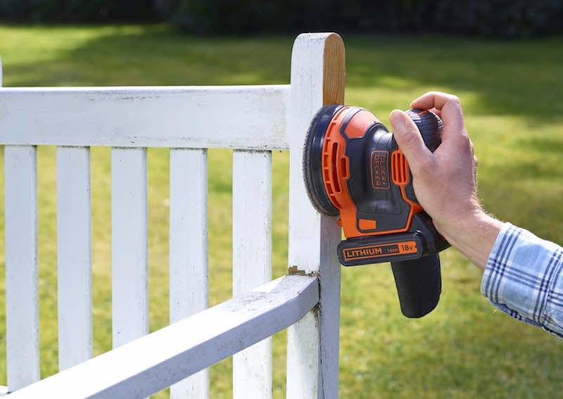 ウッドデッキなど、大型DIYの表面仕上げや、塗装落としに活躍する