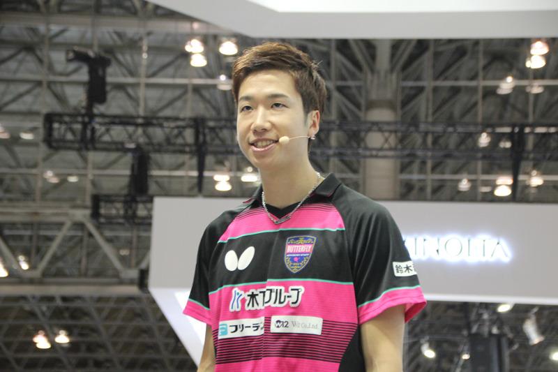 2016年リオデジャネイロオリンピック 卓球 男子シングルス メダリスト・水谷 隼さん